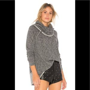 Free People Beach Cowl Neck Sweater Pullover